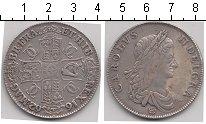 Изображение Монеты Европа Великобритания 1 крона 1662 Серебро VF