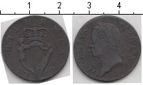 Изображение Монеты Европа Ирландия 1 фартинг 1760 Медь VF