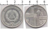 Изображение Монеты ГДР 10 марок 1974 Серебро XF