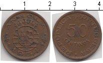 Изображение Монеты Ангола 50 сентаво 1954 Медь XF