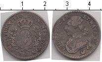 Изображение Монеты Франция 1/10 экю 1780 Серебро VF