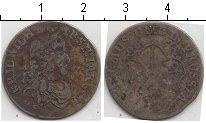 Изображение Монеты Европа Франция 1/2 соль 1683 Серебро