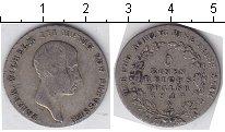Изображение Монеты Германия Пруссия 1/6 талера 1814 Серебро