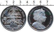 Изображение Монеты Великобритания Фолклендские острова 1 крона 2007 Серебро Proof-