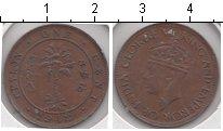 Изображение Монеты Цейлон 1 цент 1942 Медь XF