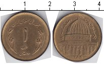 Изображение Мелочь Иран 1 риал 1359 Медно-никель UNC-