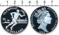 Изображение Монеты Австралия и Океания Соломоновы острова 10 долларов 1991 Серебро Proof