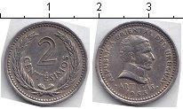 Изображение Мелочь Южная Америка Уругвай 2 сентесимо 1953 Медно-никель XF
