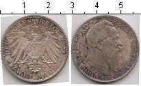Изображение Монеты Бавария 2 марки 1911 Серебро VF Леопольд