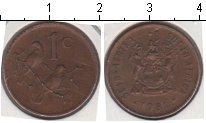 Изображение Мелочь ЮАР 1 цент 0 Медь XF