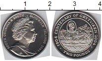 Изображение Мелочь Сендвичевы острова 2 фунта 2004 Медно-никель UNC