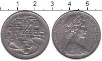 Изображение Мелочь Австралия 20 центов 1976 Медно-никель XF