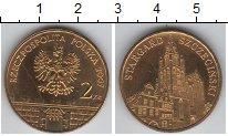 Изображение Мелочь Польша 2 злотых 2007 Медно-никель UNC Старгард Сжежинский