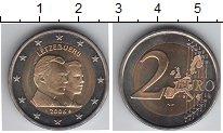 Изображение Мелочь Европа Люксембург 2 евро 2006 Биметалл UNC