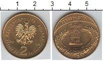 Изображение Мелочь Польша 2 злотых 2009 Медно-никель UNC