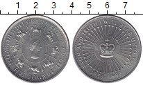 Изображение Мелочь Великобритания 5 фунтов 1993 Медно-никель XF