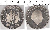 Изображение Монеты Антильские острова 25 гульденов 1979 Серебро Proof- Международный год ре