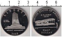 Изображение Мелочь США 1/2 доллара 2003 Медно-никель Proof Национальный мемориа
