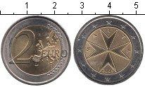 Изображение Мелочь Европа Мальта 2 евро 2008 Биметалл UNC