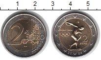 Изображение Мелочь Греция 2 евро 2004 Биметалл UNC-