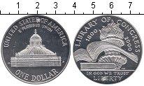 Изображение Монеты Северная Америка США 1 доллар 2000 Серебро Proof-