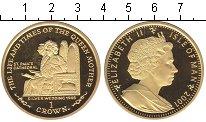 Изображение Монеты Остров Мэн 1 крона 2001 Серебро UNC-