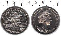 Изображение Мелочь Великобритания Фолклендские острова 1 крона 2007 Медно-никель UNC
