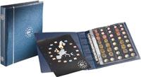 Изображение Аксессуары для монет Optima Альбом Optima для монет ЕВРО (336883) 0   Альбом в комплекте с