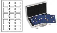 Изображение Аксессуары для монет Другие Пластиковый планшет на 15 ячеек (320714) 0   Пластиковый планшет