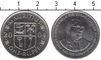 Изображение Мелочь Африка Маврикий 1 рупия 2004 Медно-никель UNC-