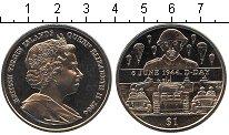 Изображение Мелочь Виргинские острова 1 доллар 2004 Медно-никель UNC