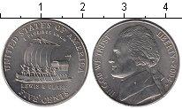 Изображение Мелочь США 5 центов 2004 Медно-никель UNC- Льюис и Кларк. Кораб