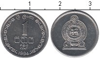 Изображение Мелочь Азия Шри-Ланка 1 цент 1994 Алюминий XF