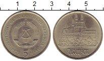 Изображение Мелочь ГДР 5 марок 1972 Медно-никель XF KM#37 Мейсен