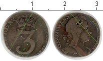 Изображение Монеты Великобритания 3 пенса 0 Серебро VF