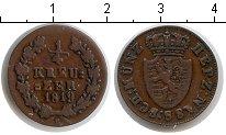 Изображение Монеты Германия Нассау 1/4 крейцера 1819 Медь