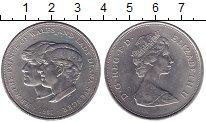 Изображение Мелочь Великобритания 25 пенсов 1981 Медно-никель XF