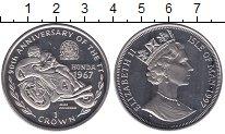 Изображение Мелочь Великобритания Остров Мэн 1 крона 1997 Медно-никель UNC