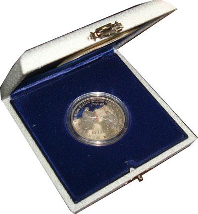 Изображение Подарочные монеты Европа Ватикан Иоанн Павел 2003 Серебро Proof