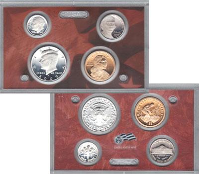Изображение Подарочные монеты Северная Америка США Выпуск монет 2009 года 2009  Proof