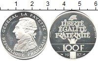 Изображение Монеты Европа Франция 100 франков 1987 Серебро Proof-