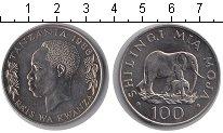 Изображение Мелочь Танзания 100 шиллингов 1986 Медно-никель UNC-