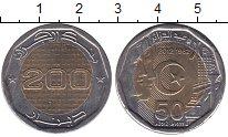 Изображение Мелочь Алжир 200 динар 2012 Биметалл XF