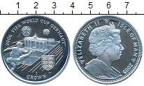 Изображение Монеты Остров Мэн 1 крона 2005 Серебро Proof Чемпионат мира по фу