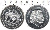 Изображение Монеты Антильские острова 25 гульденов 1973 Серебро