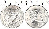 Изображение Монеты Антильские острова 25 гульденов 1973 Серебро UNC-