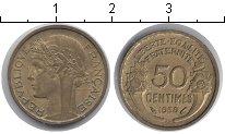 Изображение Мелочь Европа Франция 50 сантим 1939 Медь XF