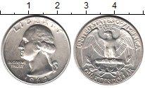 Изображение Мелочь Северная Америка США 1/4 доллара 1964 Серебро XF