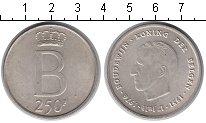 Изображение Монеты Европа Бельгия 250 франков 1976 Серебро UNC-