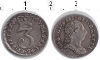 Изображение Монеты Великобритания 3 пенса 1763 Серебро XF